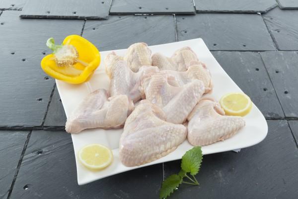 Hähnchenflügel frisch 1kg (8 - 12 Stück)