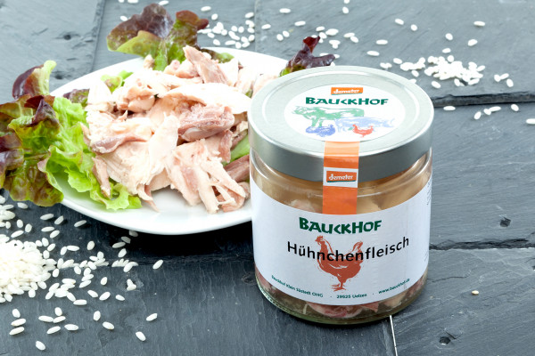 FeineHenne Hühnerfleisch, 380g